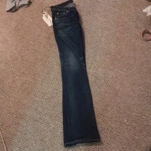 "Rag & Bone ""stiletto boot"" jeans"